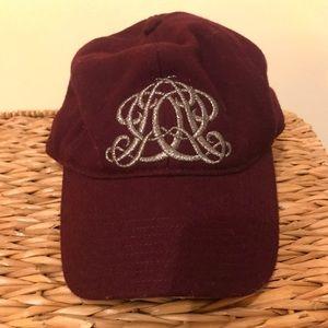 J.CREW monogrammed hat